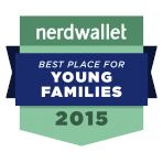 Nerdwallet Best Place for Young Familes 2015