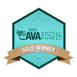 2014 AVA Digital Awards Gold Winner